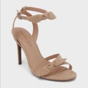 Heeled Ankle Strap Sandals